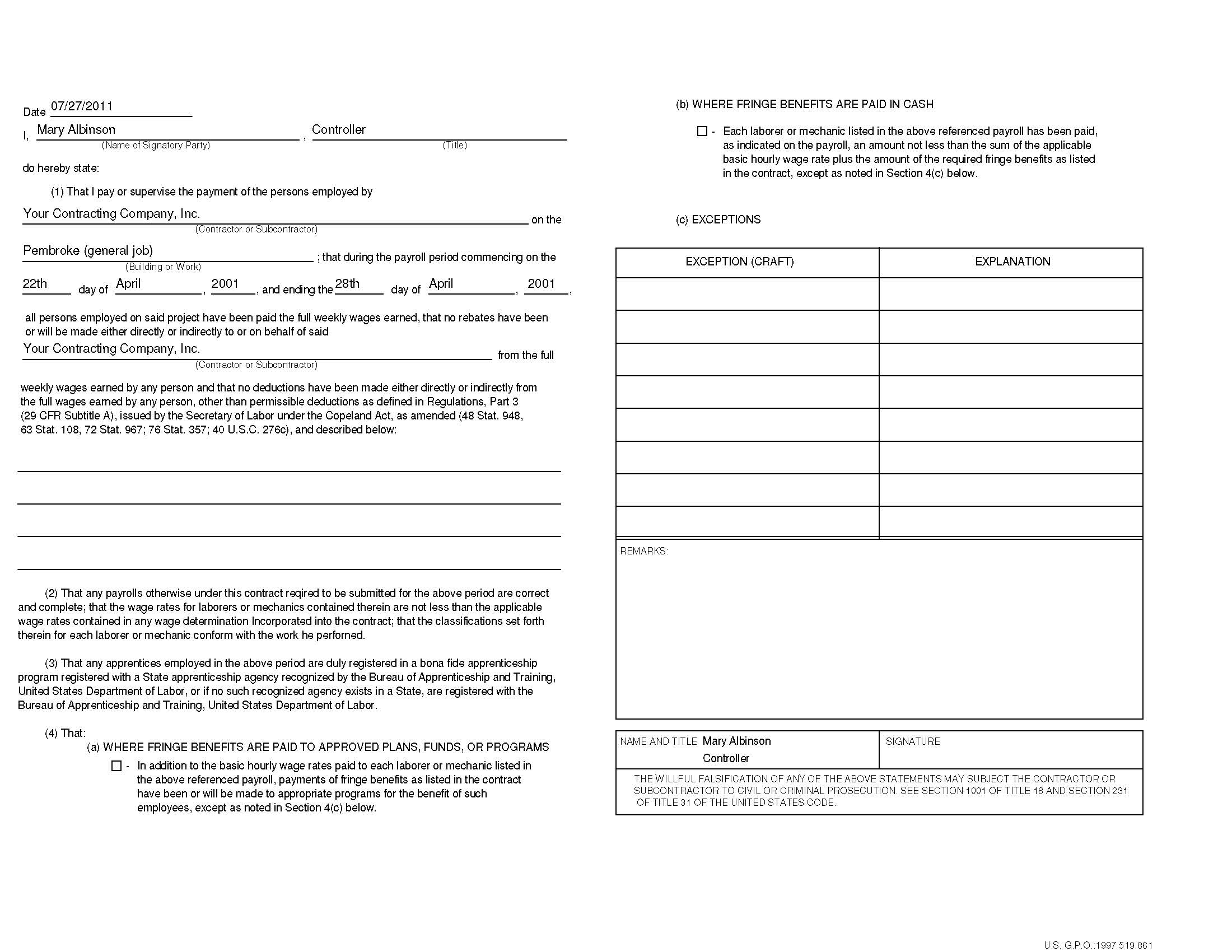 wage assignment form michigan